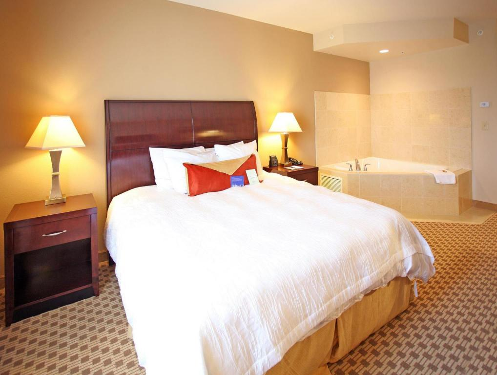 1 king bed with whirlpool suite room hilton garden inn cincinnati blue ash - Hilton Garden Inn Blue Ash