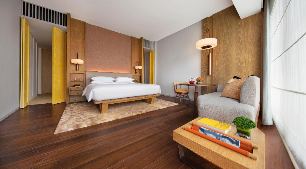 1 King Bed - Bed Andaz Singapore - A Concept by Hyatt
