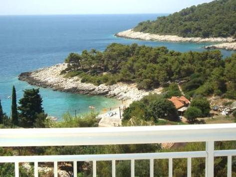 Studio Apartment with Balcony with Sea View (2 Adults)