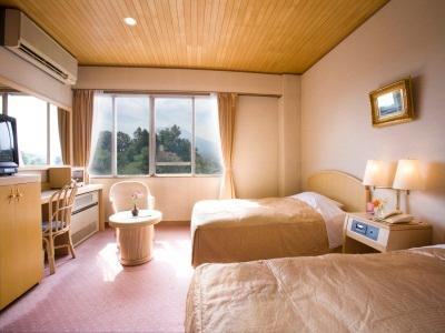 富士山景房(兩床) - 禁煙 (Mount Fuji View Twin Room - Non-Smoking)