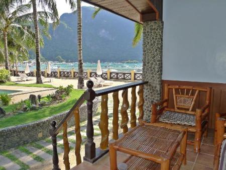 Balcony/terrace El Nido Garden Beach Resort
