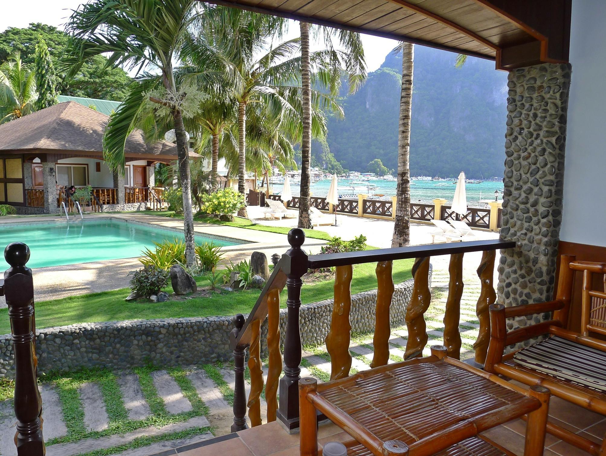 Amazing Balcony/terrace El Nido Garden Beach Resort