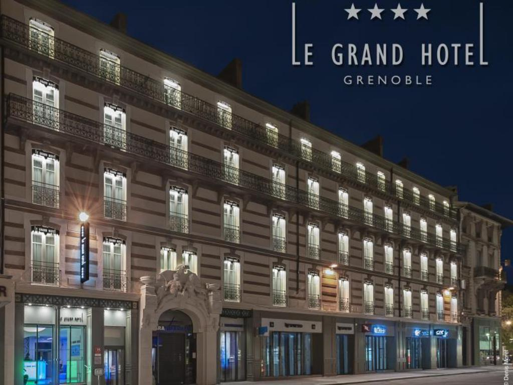 More about Le Grand Hotel Grenoble