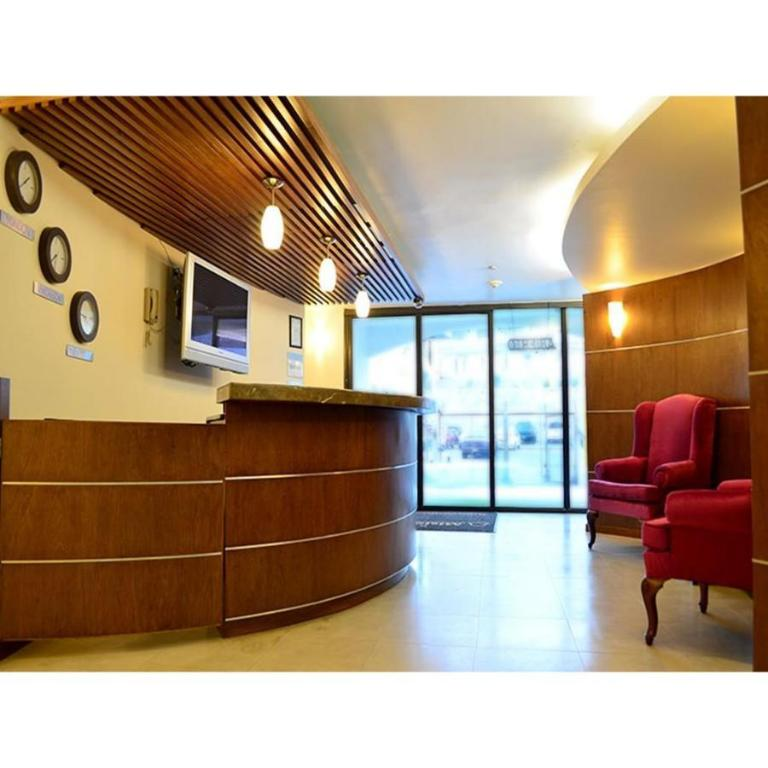 Lobby Mision Express Pachuca