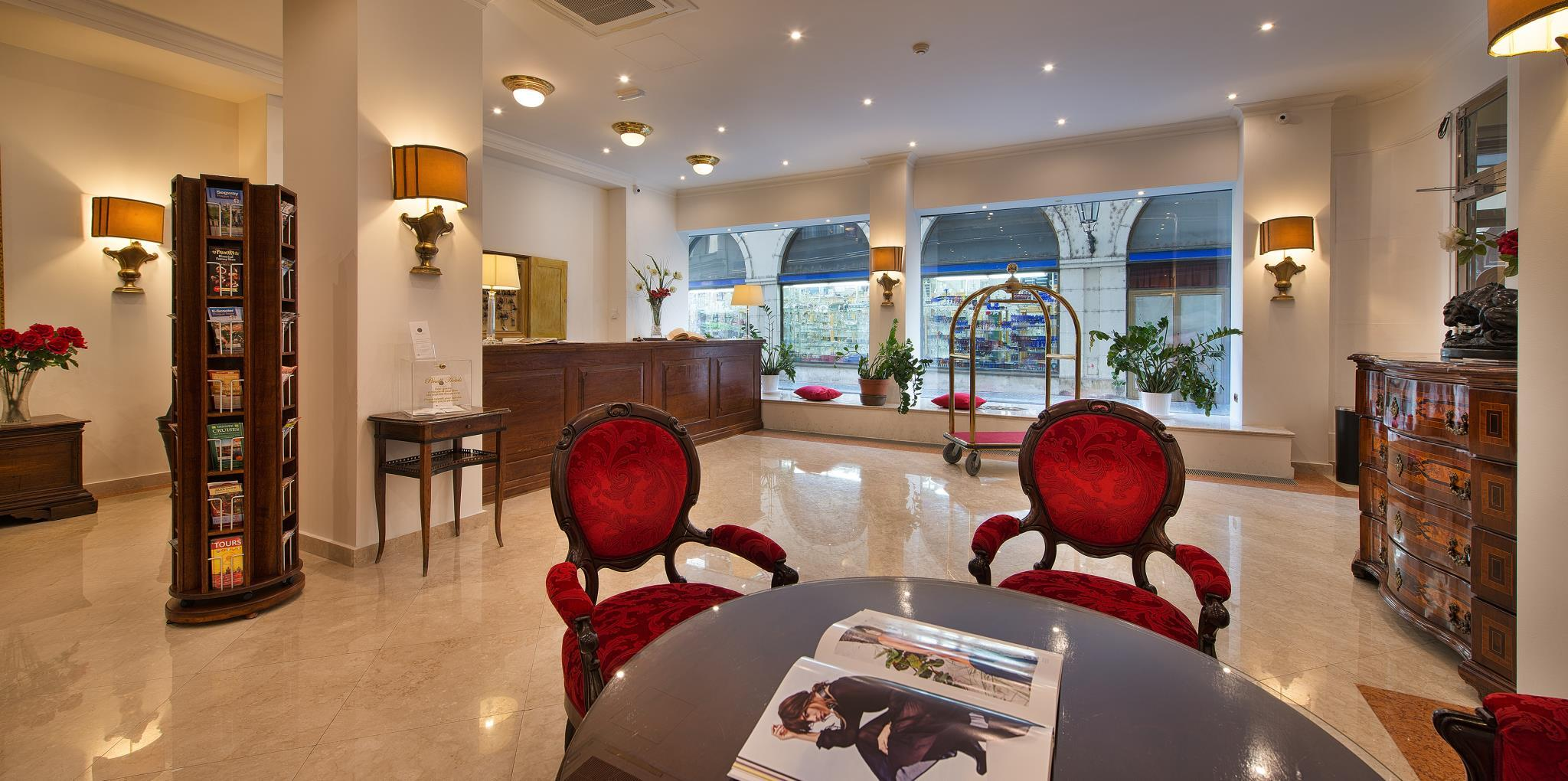 Hotel Leon D'Oro in Prague - Room Deals, Photos & Reviews