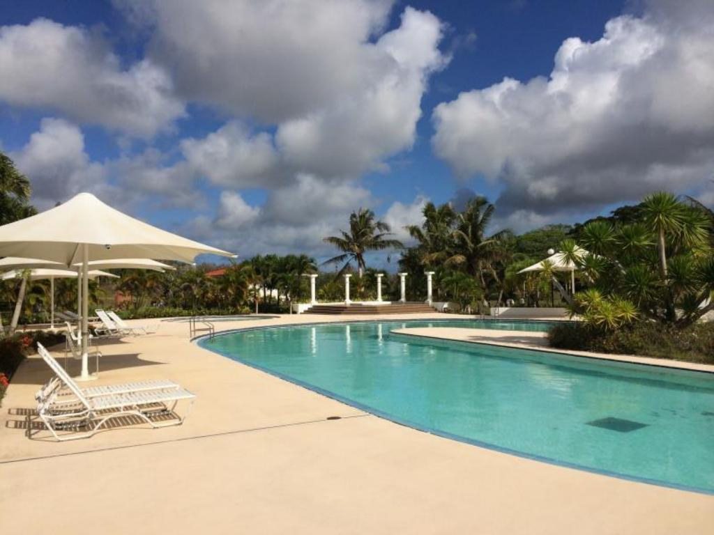 Swimming pool Starts Guam Golf Resort