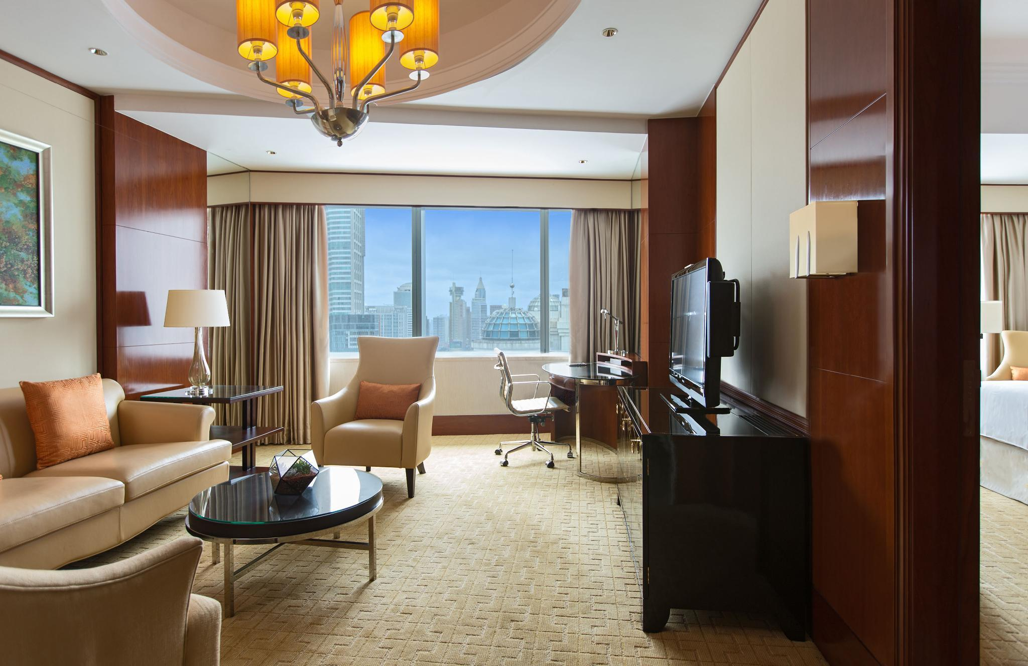 Executive Suite, Executive lounge access, 1 King, City view