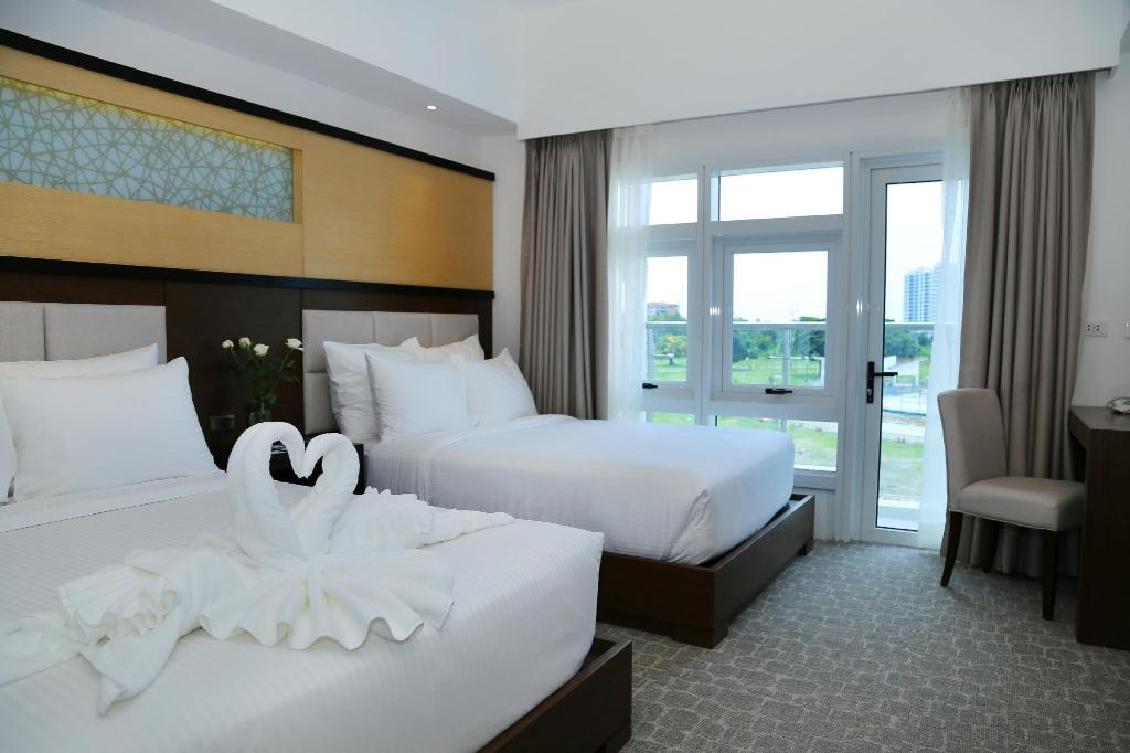 Double City View - Bed Arterra Hotel and Resort