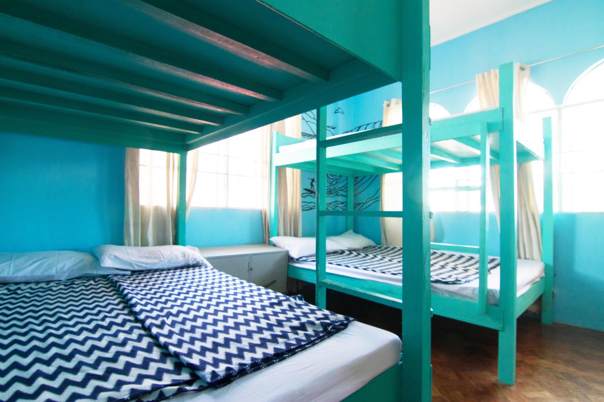 1 Double Bed in 4-Bed Dormitory - Mixed