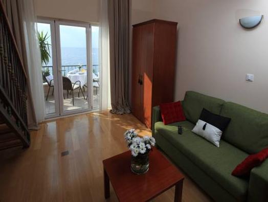 Suita Duplex z balkonom in s pogledom na morje (Duplex Suite with Balcony and Sea View)