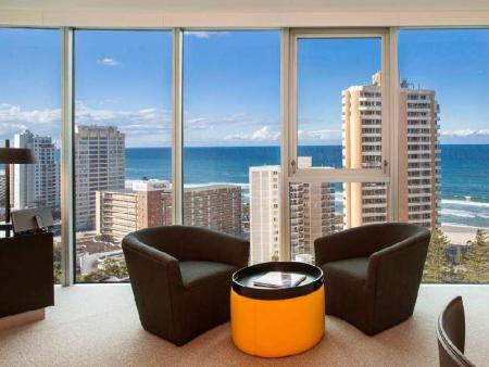 Interior view Hilton Surfers Paradise