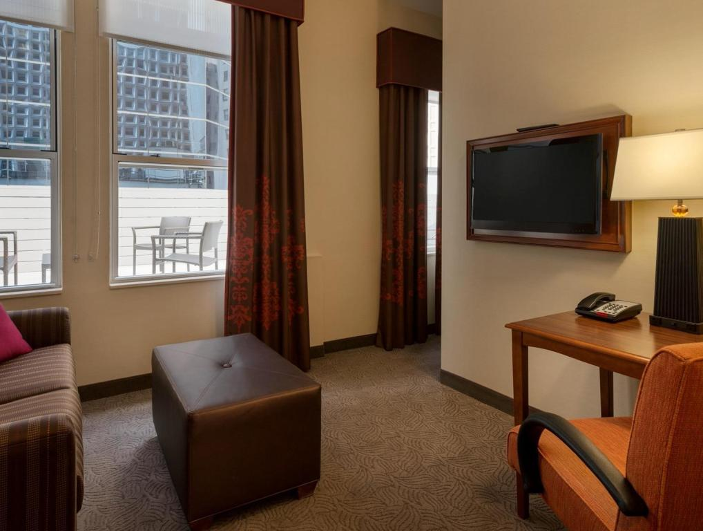 Interior view Hampton Inn Manhattan Downtown Financial District