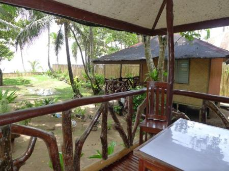 balkon/terras Green Verde Resort Cottages