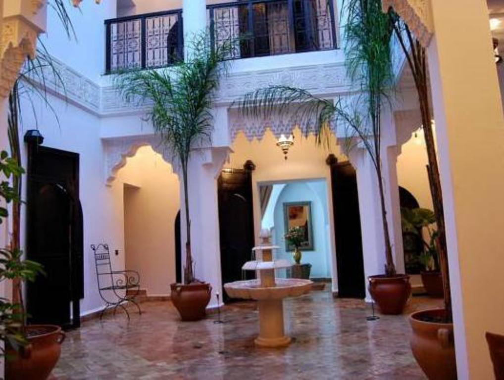 Interior view Riad Hannah