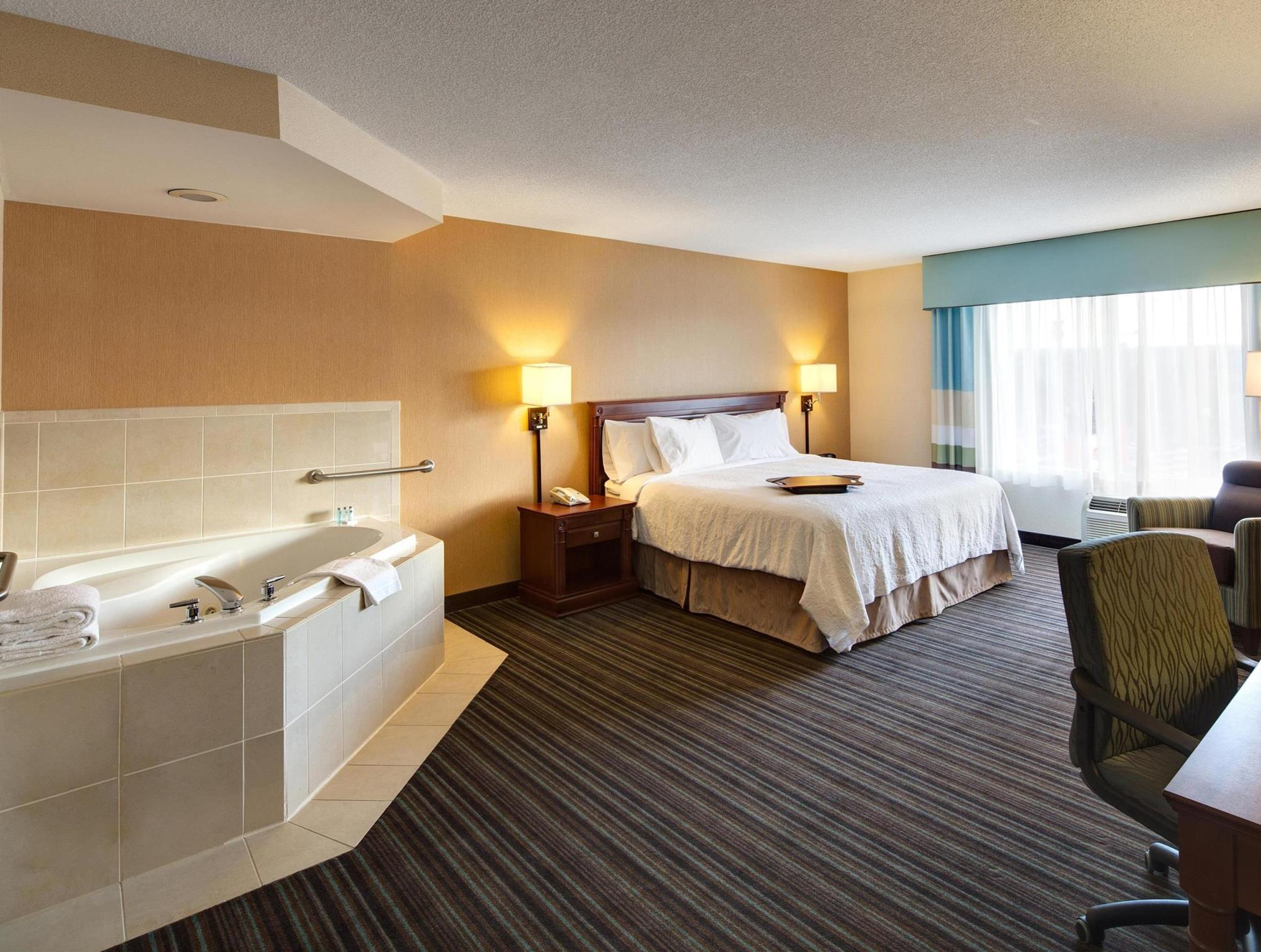 1 Room Suite King Whirlpool Non-Smoking