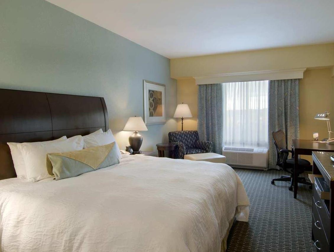 1 King Bed   Guestroom Hilton Garden Inn Billings