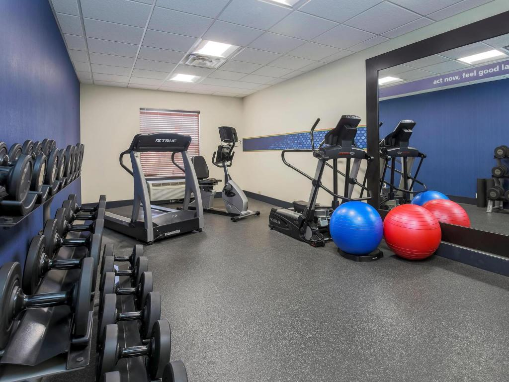 Fitness centar Hampton Inn and Suites New Haven South West Haven