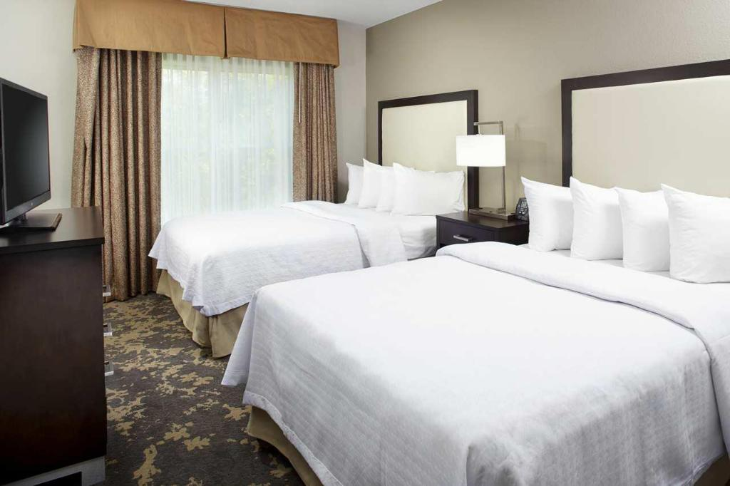 1 King or 2 Double 2 Bath Accessible Tub Non-Smoking Homewood Suites by Hilton Charlotte Airport