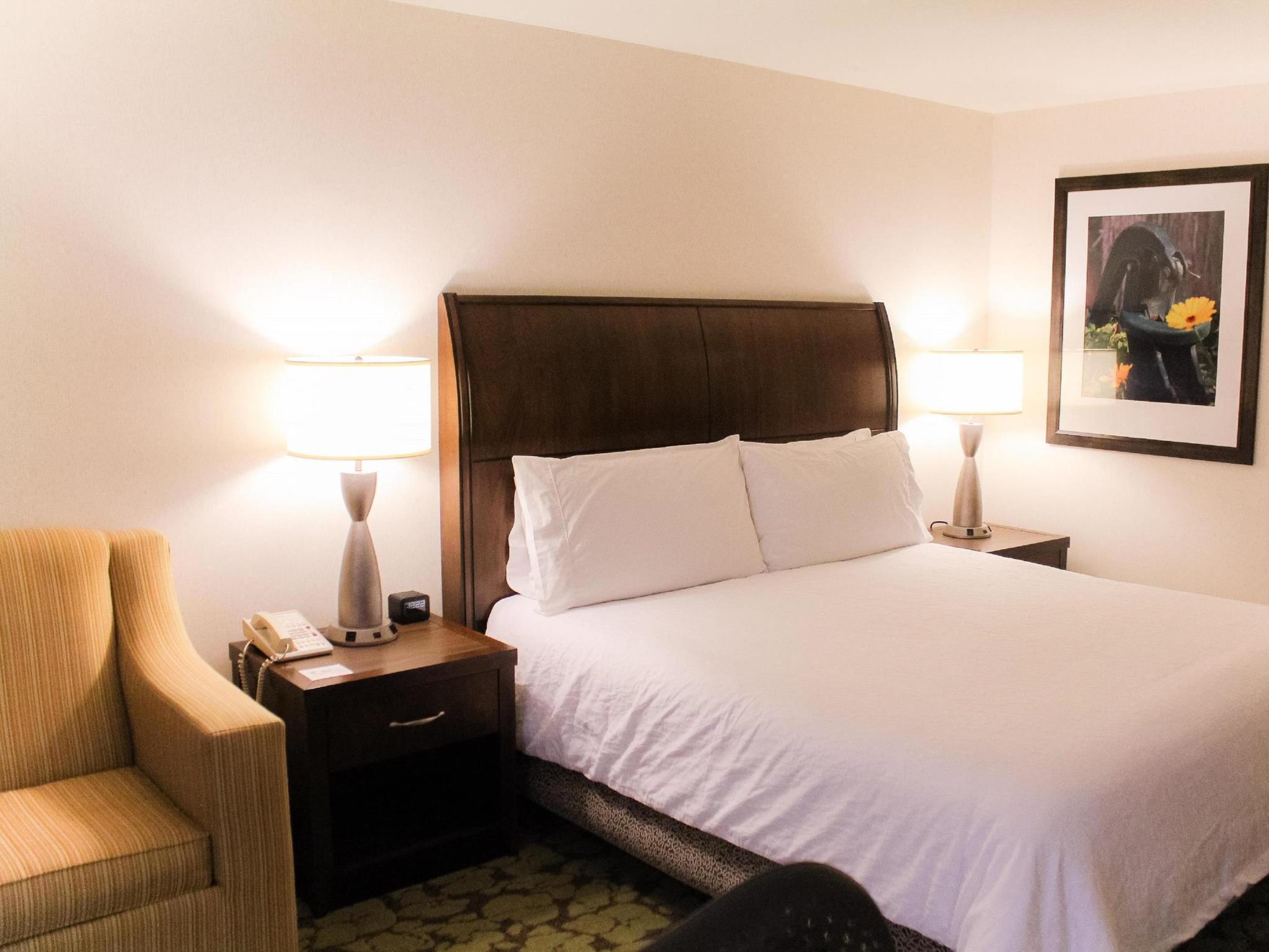 1 King Bed Top Floor View