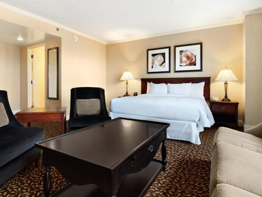 Junior hot. apartman s King krevetom - Gostinjska soba Hilton Atlanta Marietta Hotel and Conference Center