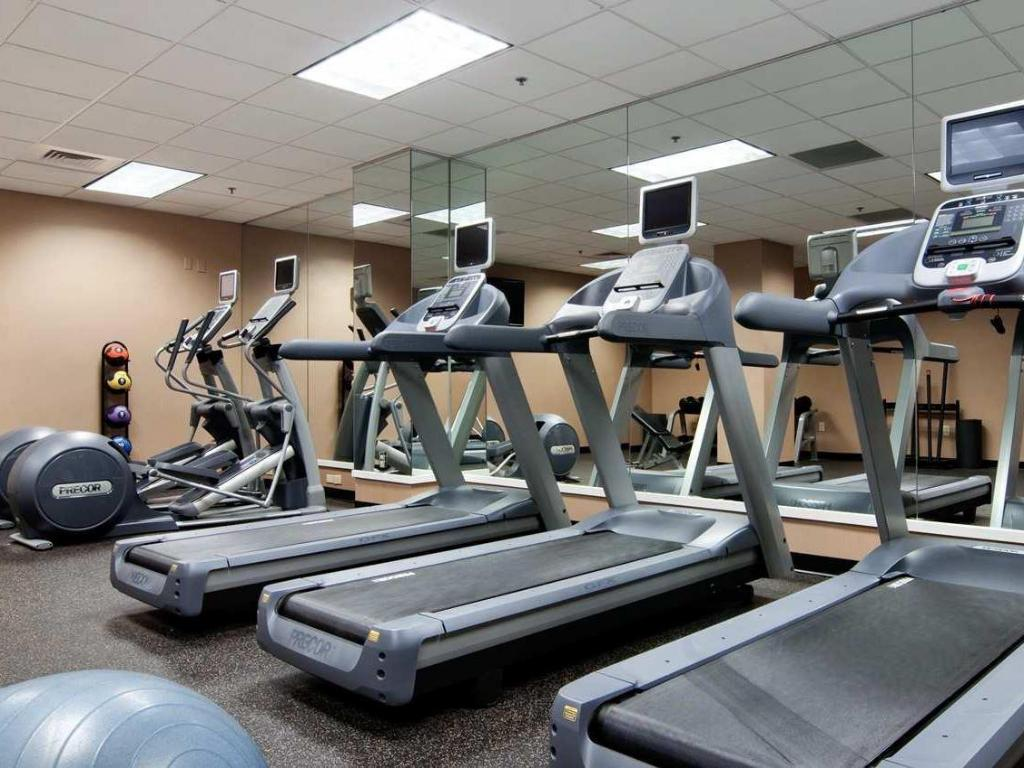 Fitness centar Hilton Atlanta Marietta Hotel and Conference Center