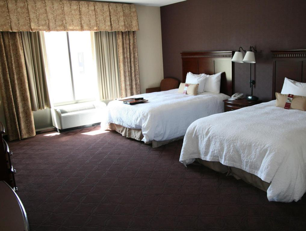 2 Queen Beds Non-Smoking - Guestroom Hampton Inn and Suites Chesapeake Battlefield Blvd.