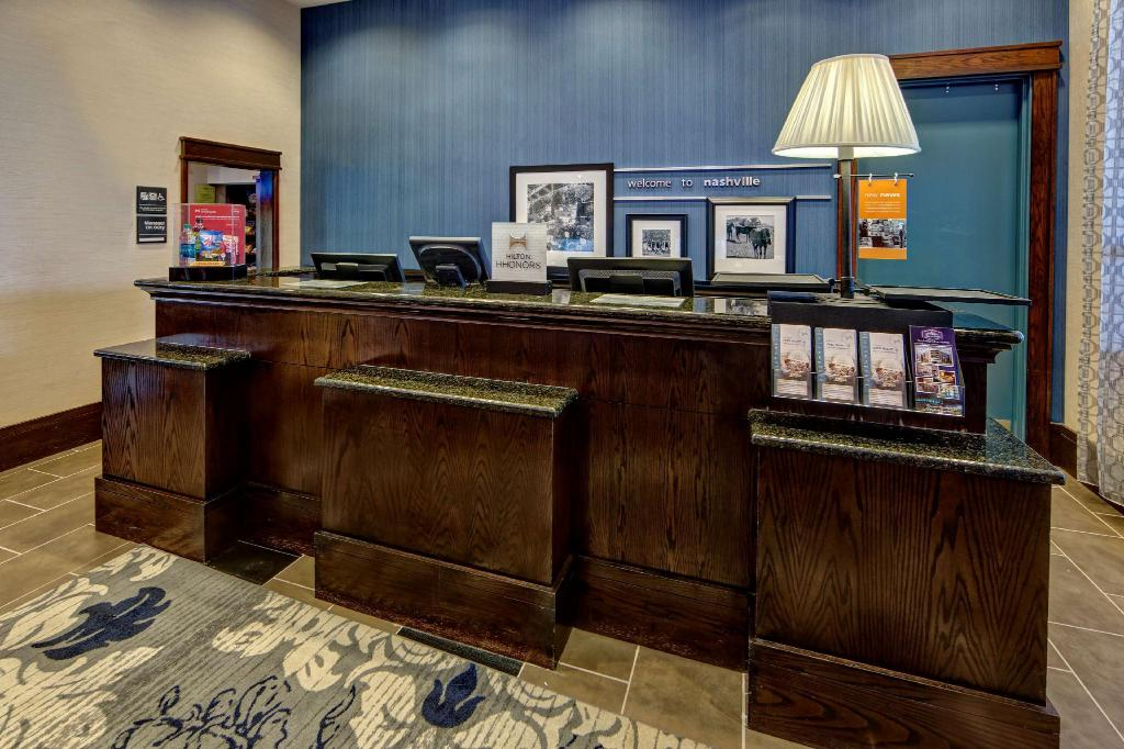 Predvorje Hampton Inn and Suites Nashville Downtown