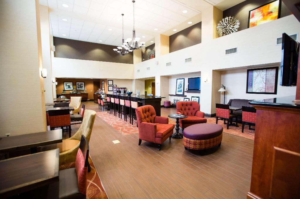 Interijer hotela Hampton Inn and Suites Blairsville