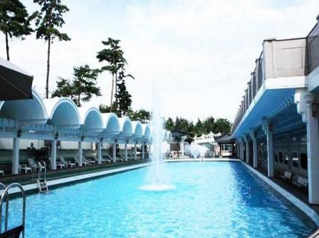Swimming pool Donghae Medical SPA Convention Hotel