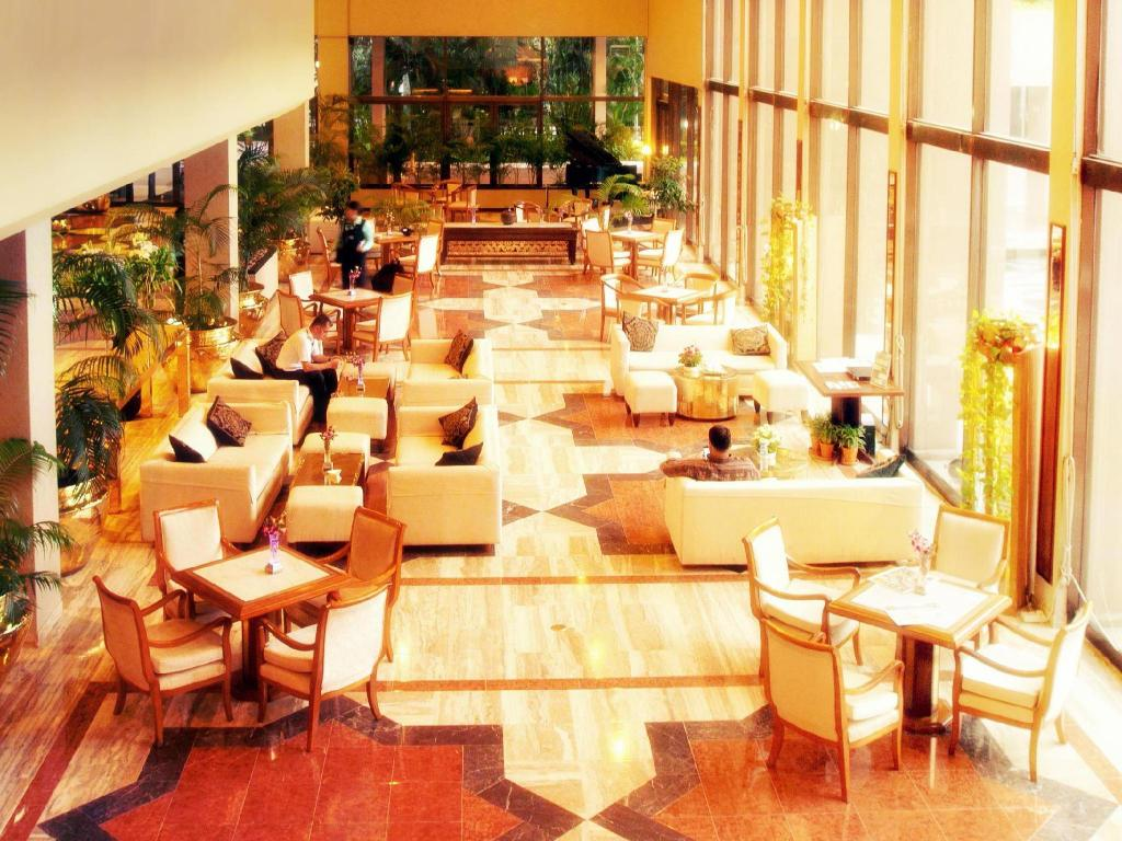 Lobby Pan Pacific Sonargaon Dhaka
