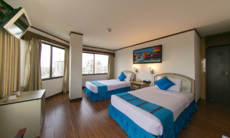 Deluxe Double or Twin Orchid Hotel