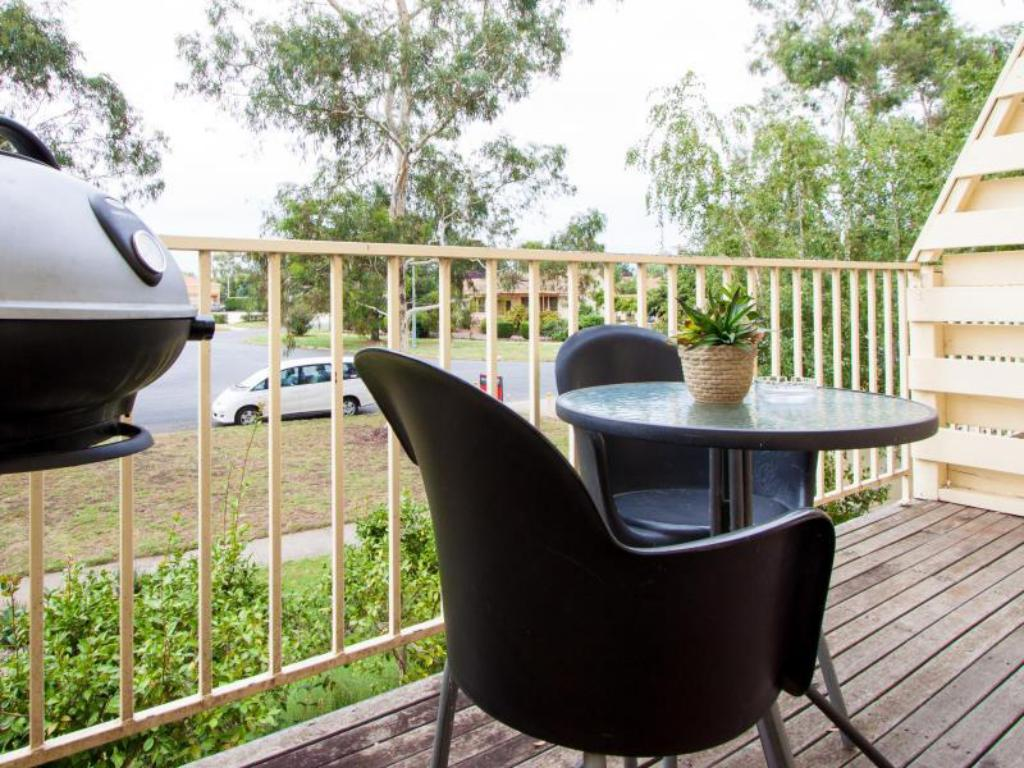 balkong/terrass Canberra Short Term & Holiday Accommodation