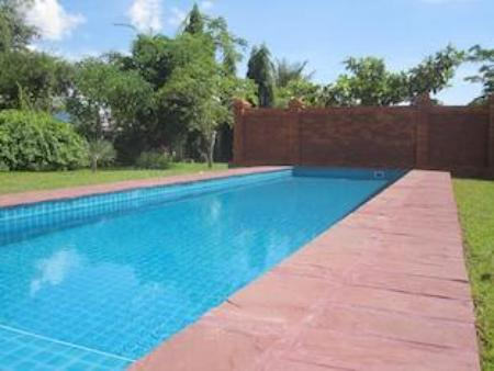 Swimming pool Deluxe Homestay - La Residence Mandalay