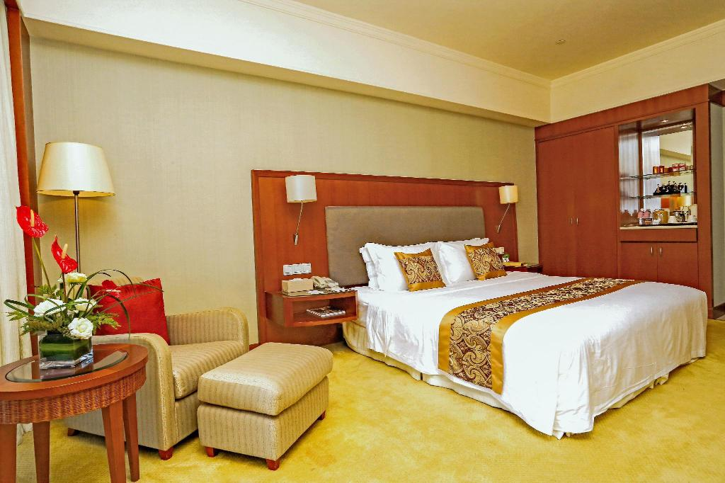Deluxe King - Guestroom Agile Changjiang Hotel