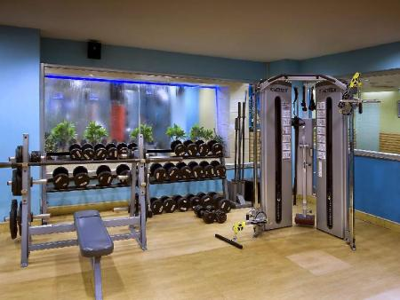 Fitness center The Suryaa Hotel New Delhi