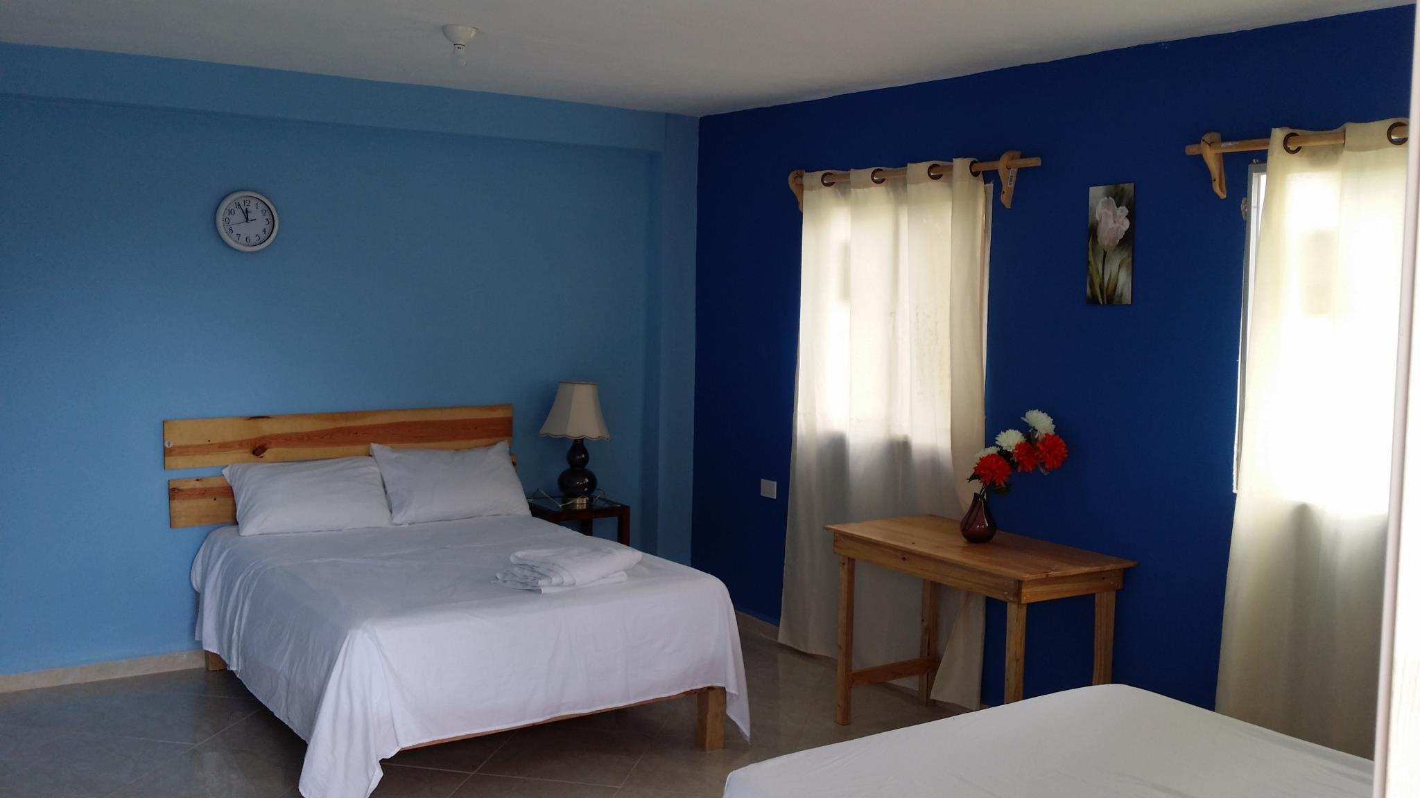 Blue & Violet Room with Air Conditioning