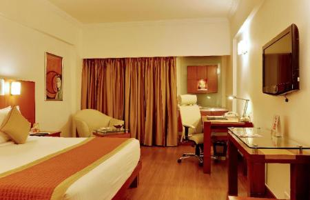 Deluxe Room - Room plan The Suryaa Hotel New Delhi
