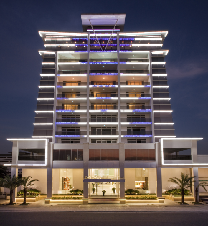 Exterior View Midas Hotel And