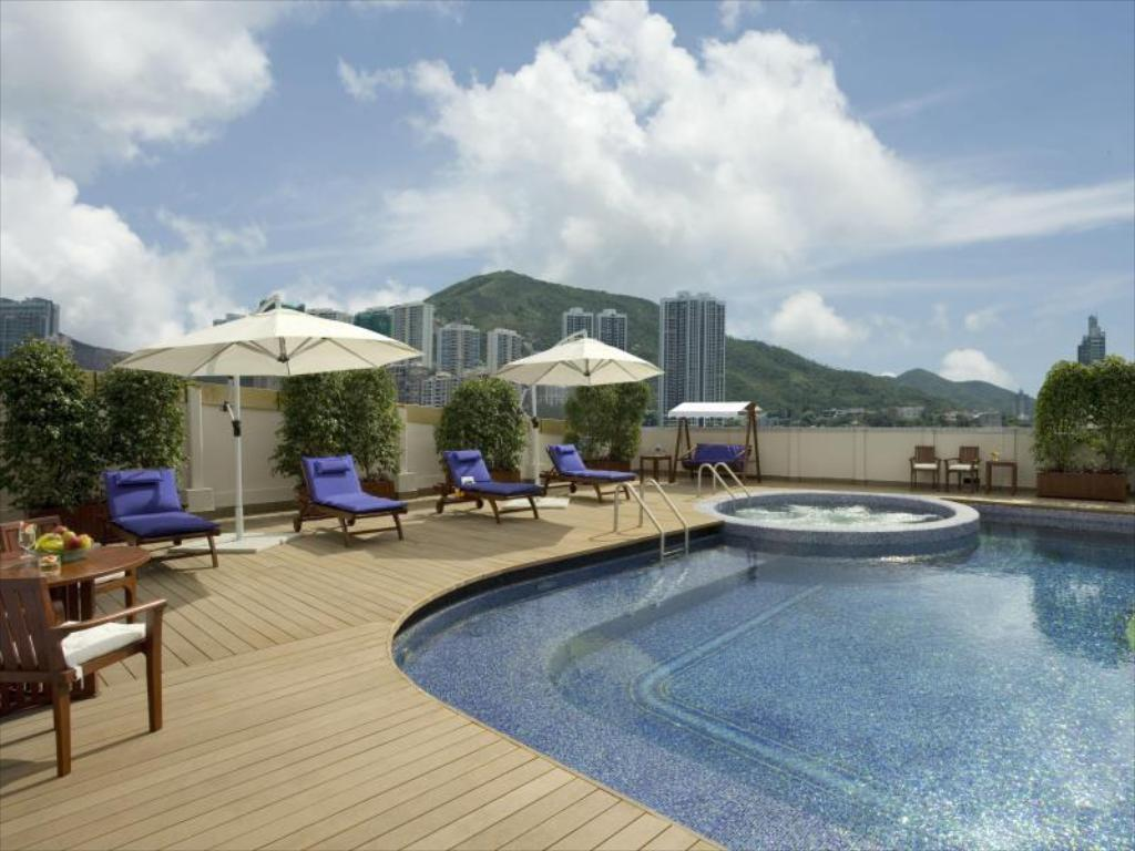 Swimming pool [outdoor] Regal HongKong Hotel