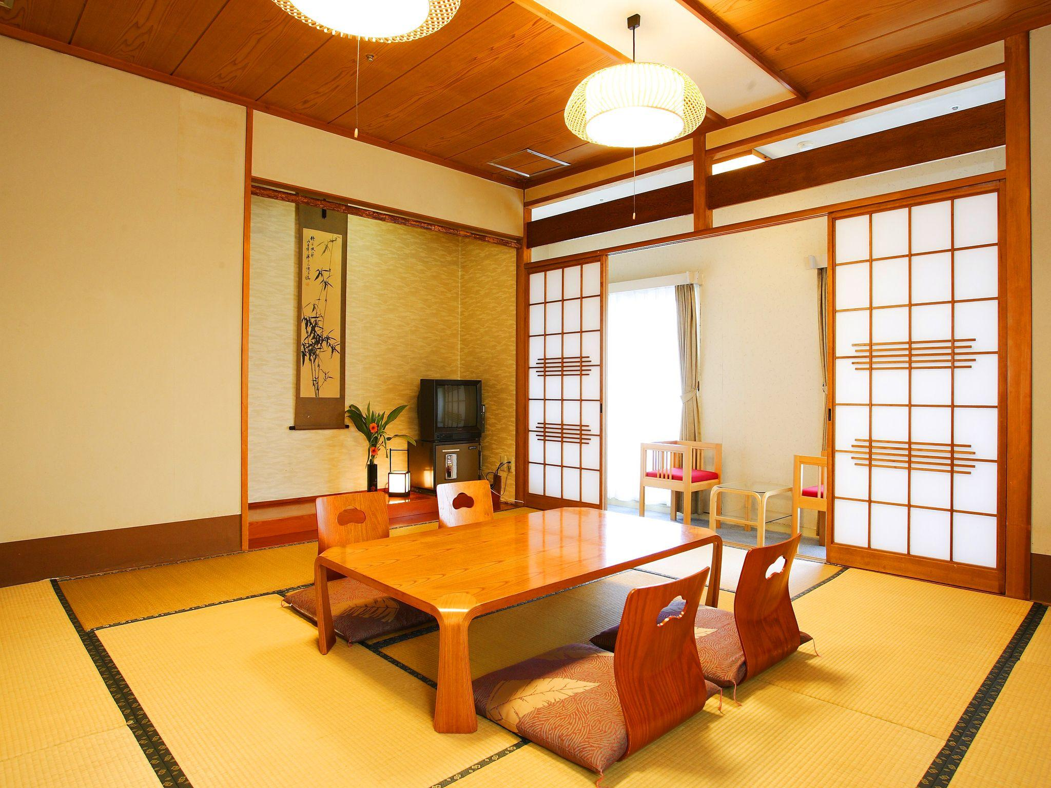 Japanese Style Room with 10 Tatami and Private Bathroom