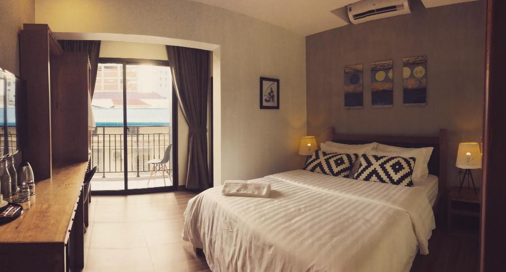 Superior Double Room with Balcony Lavanya Boutique Hotel