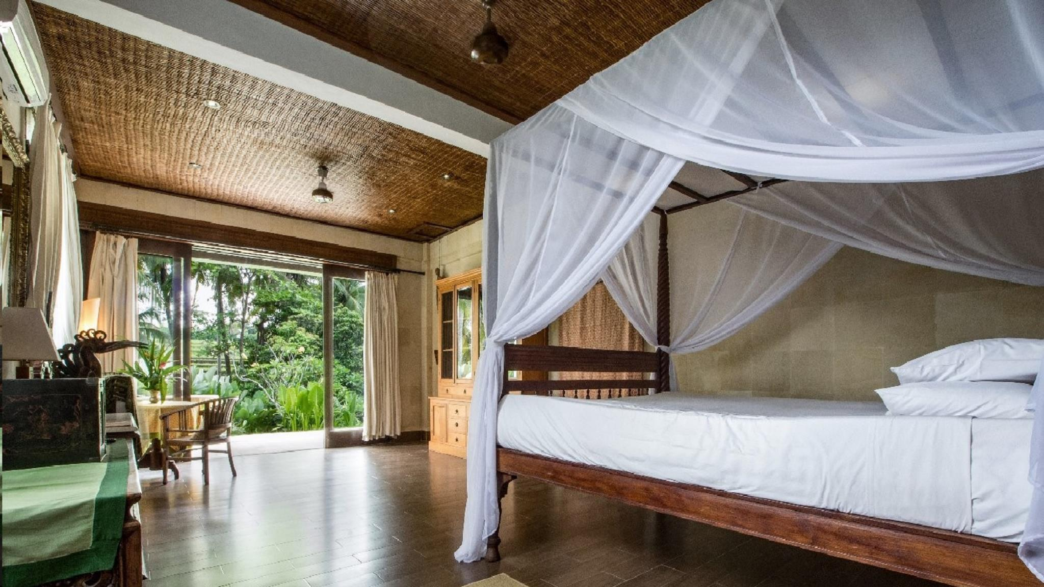 Two Bedroom Lumbung Villa (2 double beds) (non refundable)