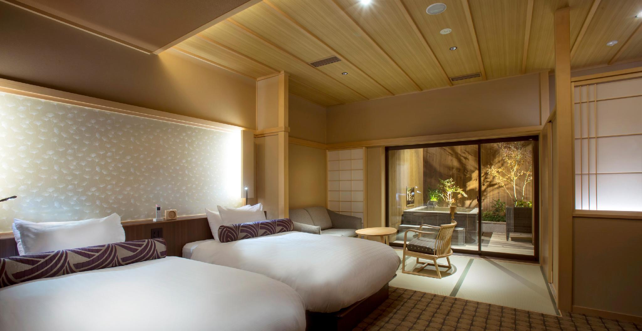 Grande Twin Room with Open-Air Bath