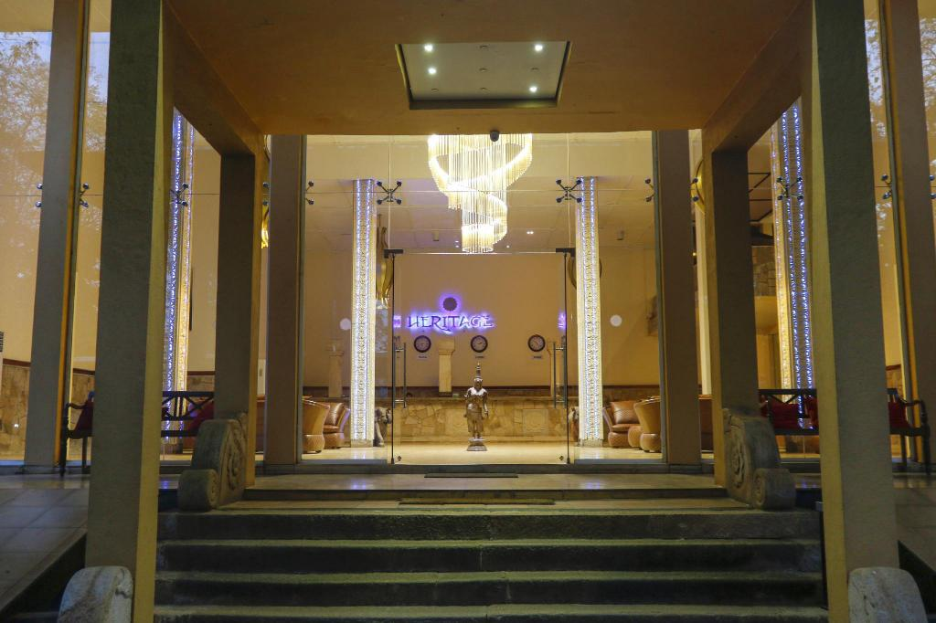Lobby The Heritage Hotel