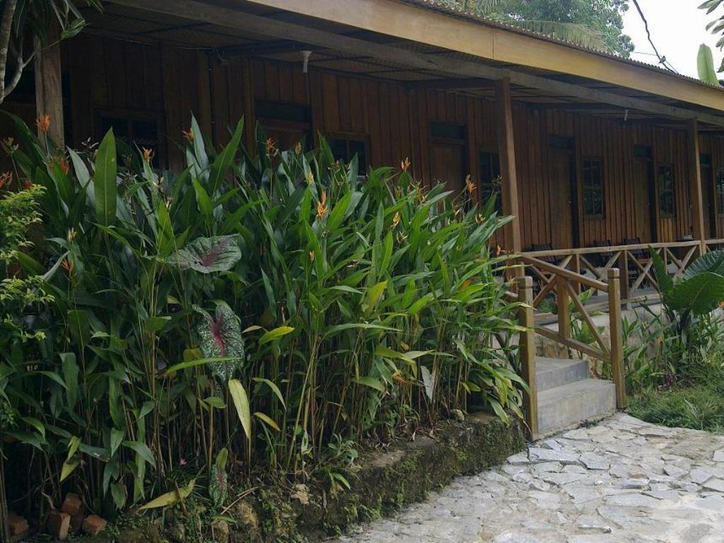 Balcony/terrace Ue datu Cottages