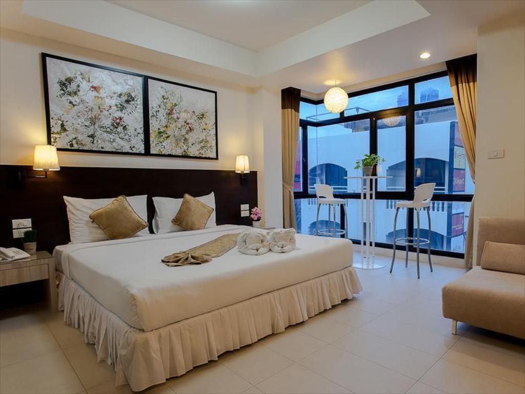 Interior view @ White Patong Hotel