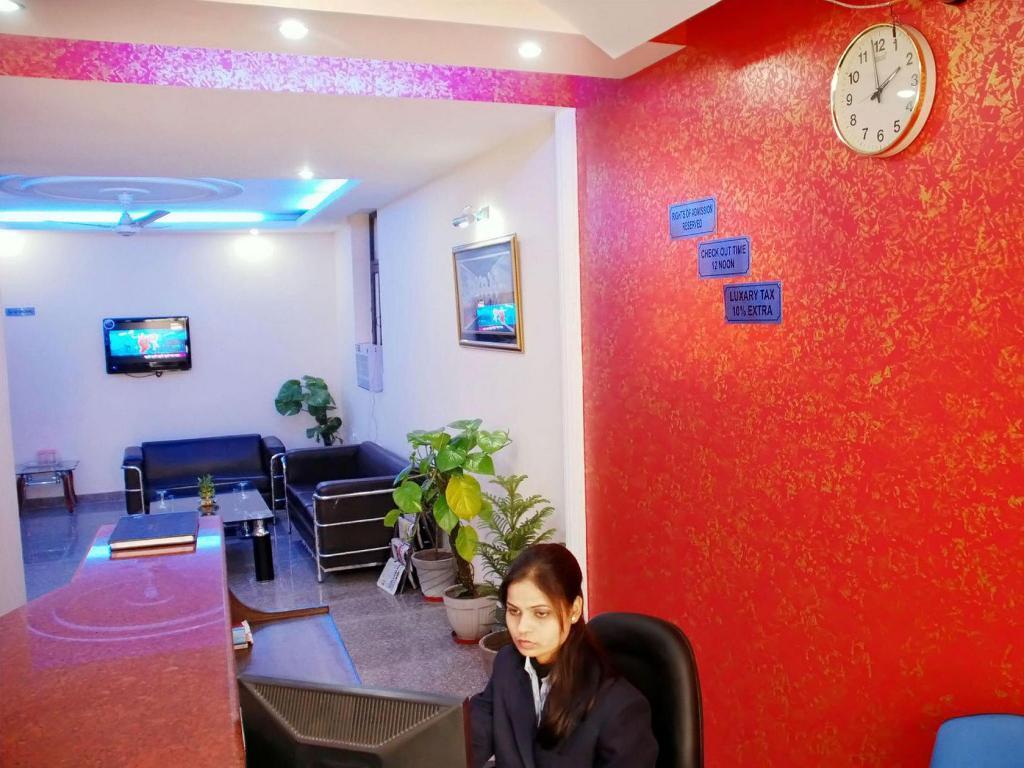 Lobby Airport Hotel Mayank Residency