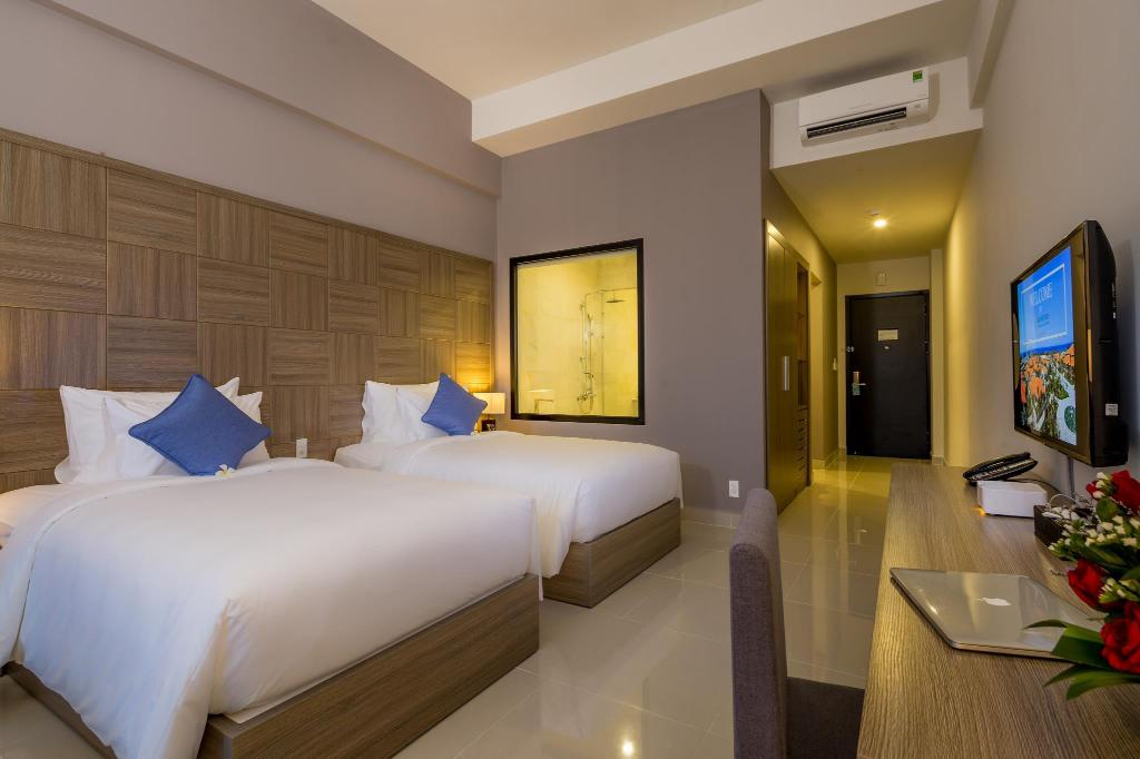 Deluxe Twin Room Grandvrio Ocean Resort Danang
