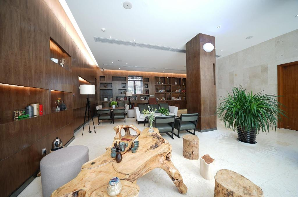 Lobby Yi Ting Ju Hotel Guangzhou South Railway Station Panyu Chimelong Branch