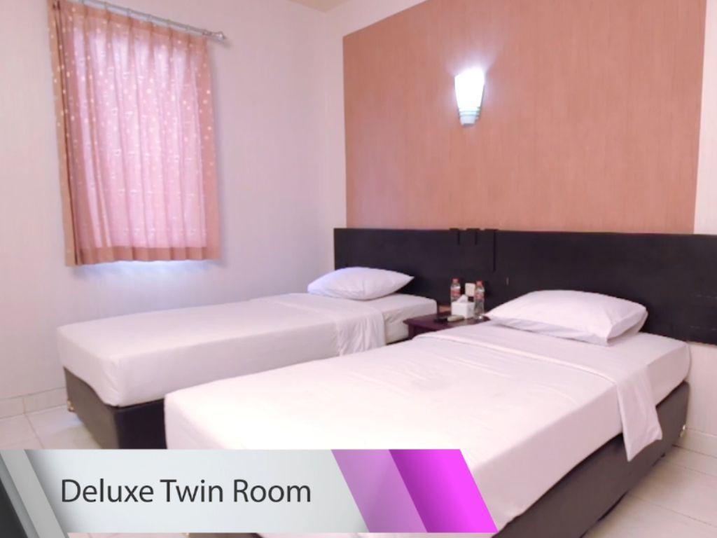 Deluxe Twin Room - Room plan